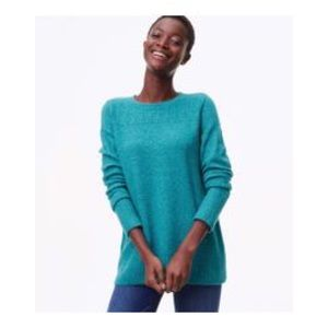 LOFT Women's Pointelle Oversized Relaxed Sweater